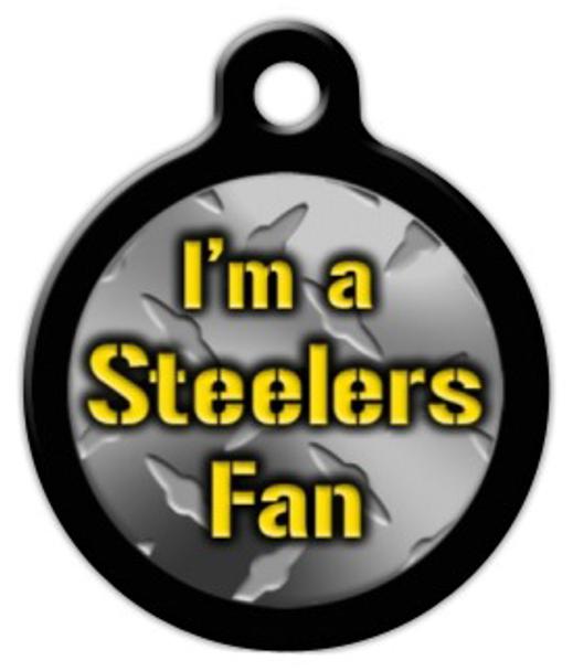 Dog Tag Art Steelers Fan Pet ID Dog Tag