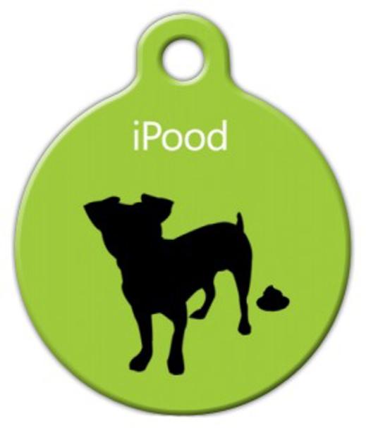 Dog Tag Art iPood Pet ID Dog Tag