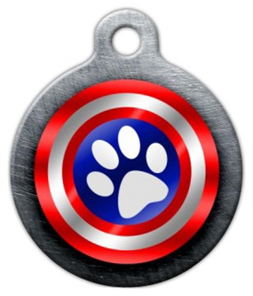 Dog Tag Art Canine America Pet ID Dog Tag