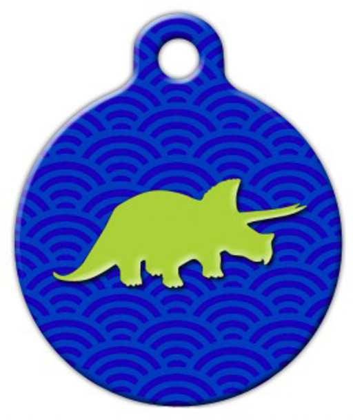 Dog Tag Art Dino Pet ID Dog Tag