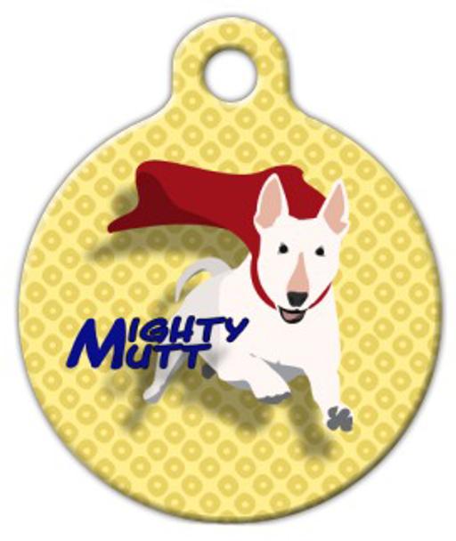 Dog Tag Art Mighty Mutt Pet ID Dog Tag