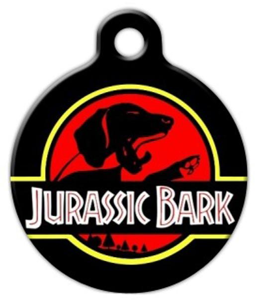 Dog Tag Art Jurassic Bark II Pet ID Dog Tag