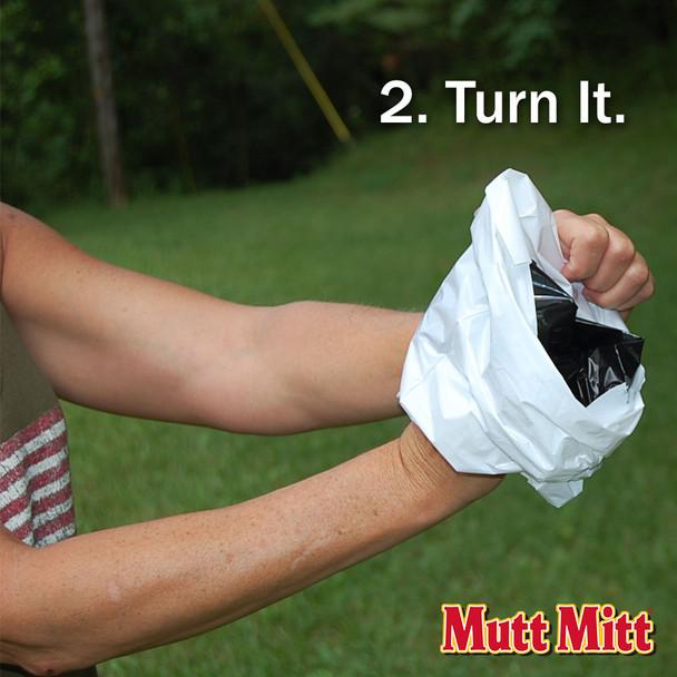 Mutt Mitt Pick Up Bags Turn It