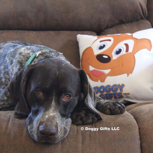 Ruger wearing Coastal Pet Metal Buckle Nylon Dog Collar  HUN Hunter Green