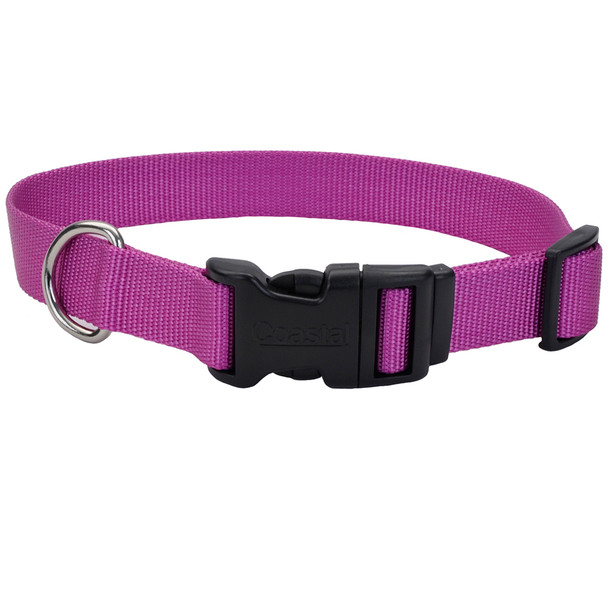 Coastal Pet Plastic Buckle Adjustable Nylon Dog Collar (6301)