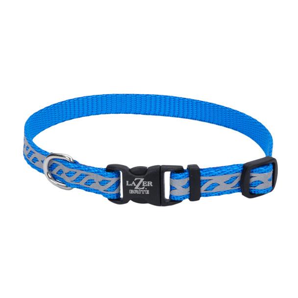 Coastal Pet Lazer Brite Reflective Adjustable Dog Collar (46331)