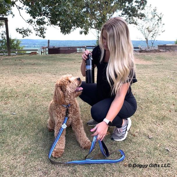 Sammy and Mom Coastal Pet K9 Explorer Reflective Dog Leash