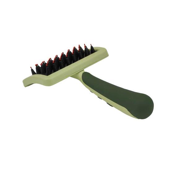 Safari® Nylon Coated Tip Dog Brush For Shorthaired Breeds