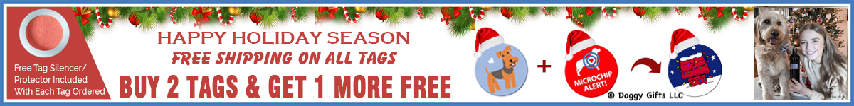 Shop online at doggygifts.com for your holiday gifts and more. Free shipping all tags.