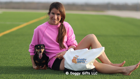 We love our doggygifts friends - Lindsey and Sadie