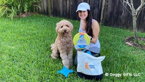 Have A Fun Springtime Day From Doggy Gifts LLC  - featured friends Maui and Lisette