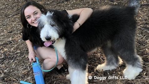 Have A Fun Filled Day From Doggy Gifts LLC  - featured friends Henry and Mary Catherine