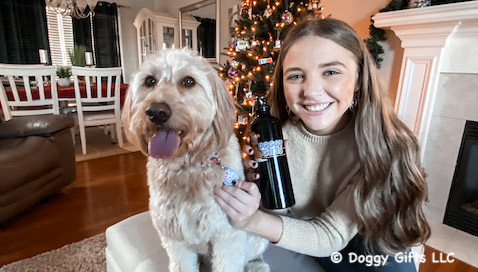 Happy Holidays  - from our friends Mylo and Cailin