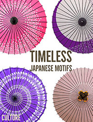 Traditional Japanese Motifs: Modern After 1200 Years
