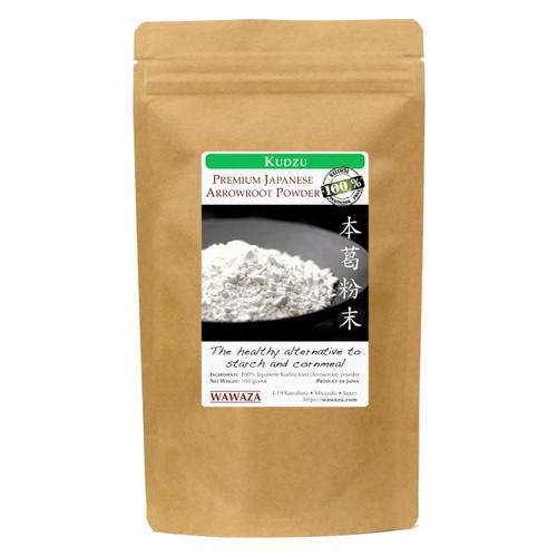 Make Japanese Arrowroot tea (kuzu-yu) or use as alternative to starch and cornmeal