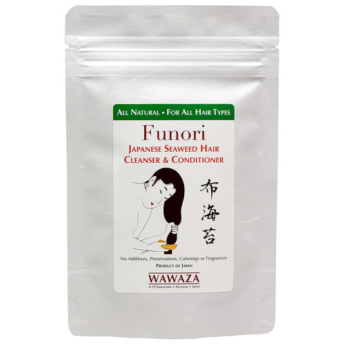 Triple-seaweed Japanese traditional formulation — an all-natural, nutrient-rich alternative to chemical-based hair care products.