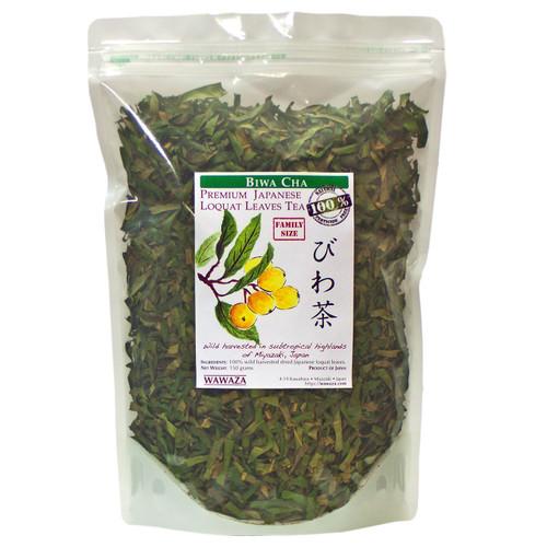 Wild-Harvested loquat leaves bulk 150g pack