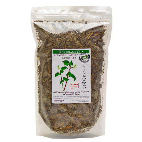 Japanese (Houttuynia cordata) . Wild-harvested , pesticide-free. 150g economy pack.