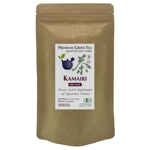 Gourmet Pan-Roasted Kamairi Green Tea 100g