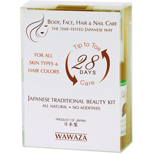 All-you-need kit for body, face and hair care, the traditional Japanese way. Great starter if you are new to traditional Japanese beauty regimen.