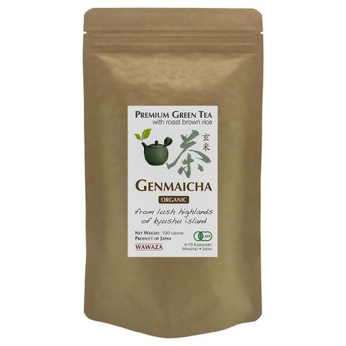 Genmaicha Green Tea with Roast Brown Rice 100g