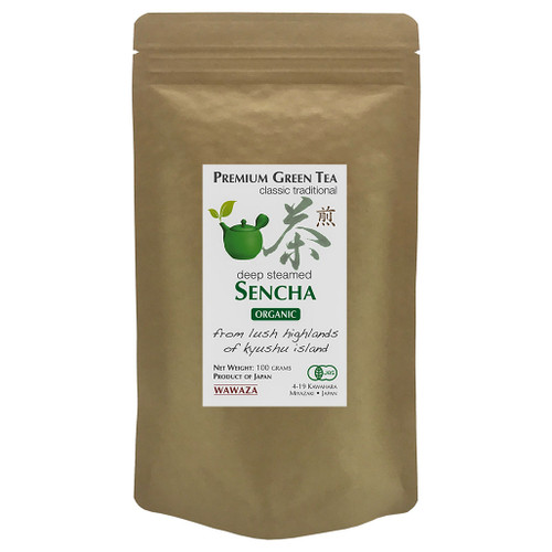 Deep-Steamed Sencha Green Tea (Fukamushi Cha) 100g