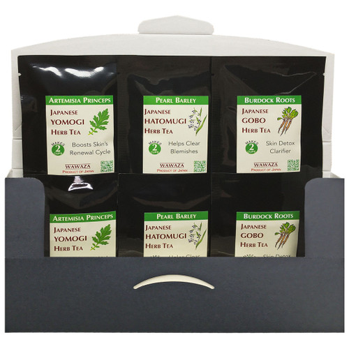 Three time-tested herbal teas for helping skin clear from the inside out.