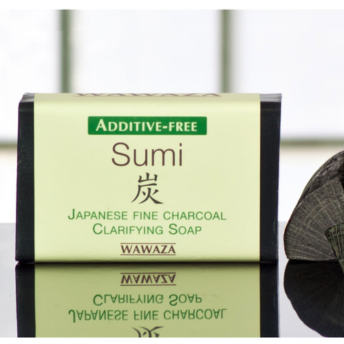 Deep cleanses without drying skin. Made with Japanese bamboo sumi charcoal.