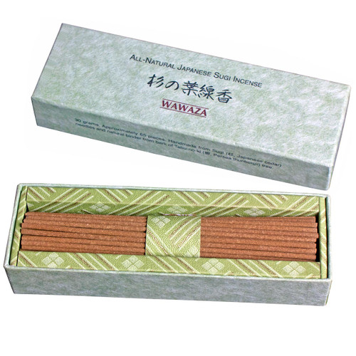 Soft, healing scent of a tranquil Japanese cedar (sugi) forest.