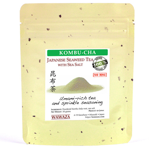 Made from nutrient-rich roots of kombu seaweed with a dash of sea salt to balance the flavor
