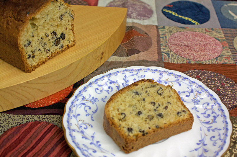 Black Soybean Tea Cake