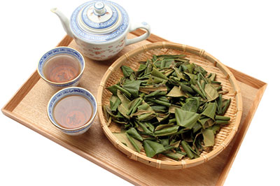How to Make Loquat Leaves Tea (Biwa Cha) Japanese Way