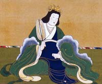 Japanese 7th century powerful female empress who was also an avid herbalist.