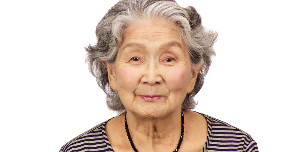 Fumi san has just turned 95