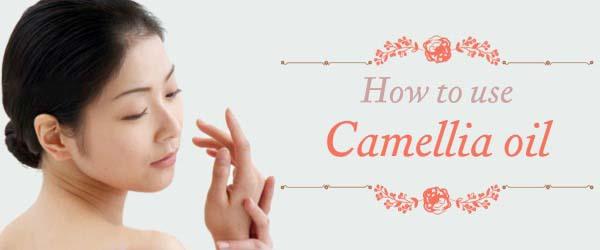 How to Use Japanese Camellia (Tsubaki) Oil