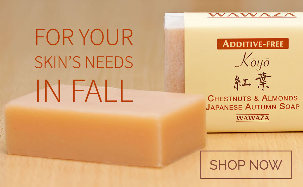 Chestnuts and Almonds Japanese Autumn Soap
