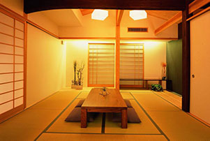 The presence of MA makes the minimalism of a Japanese tatami room so serene.