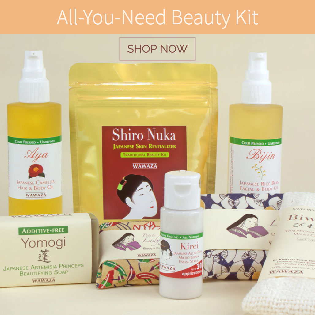 Complete kit of our best skin and hair care products