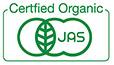 JAS certified organic