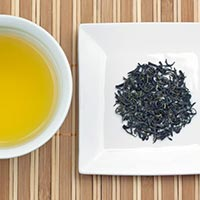 Kamairicha is a sophisticated, pan-roasted green tea, and an excellent choice for serving on special occasions.