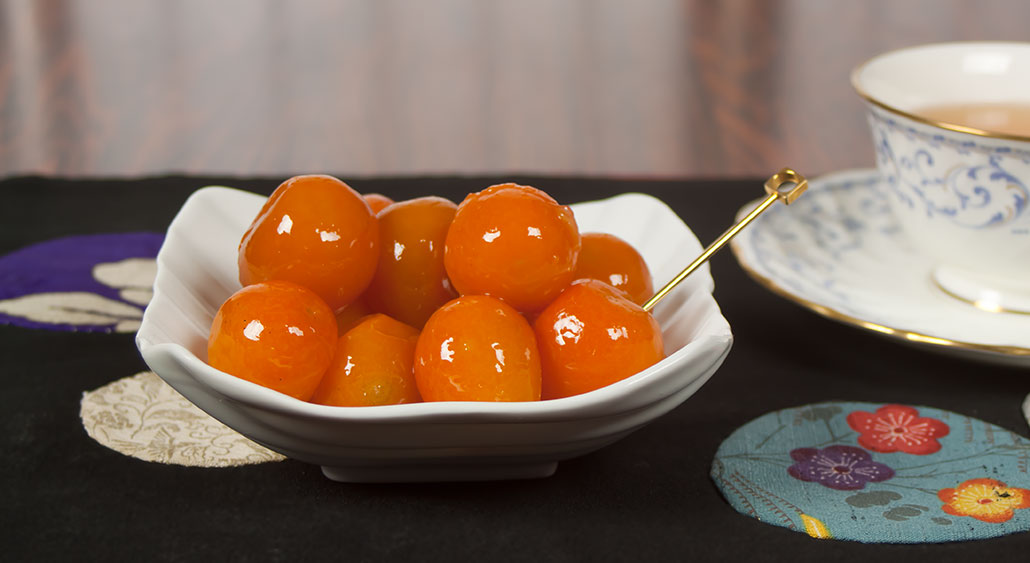 Recipe for Japanese kinkan (kumquat) preserve