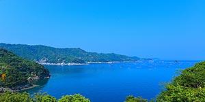 Uwajima bay is a pristine body of water in southern Shikoku, the smallest of Japanese main islands