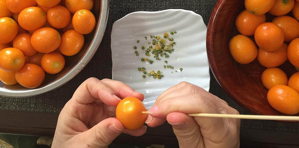 How to make Japanese kumquat preserve