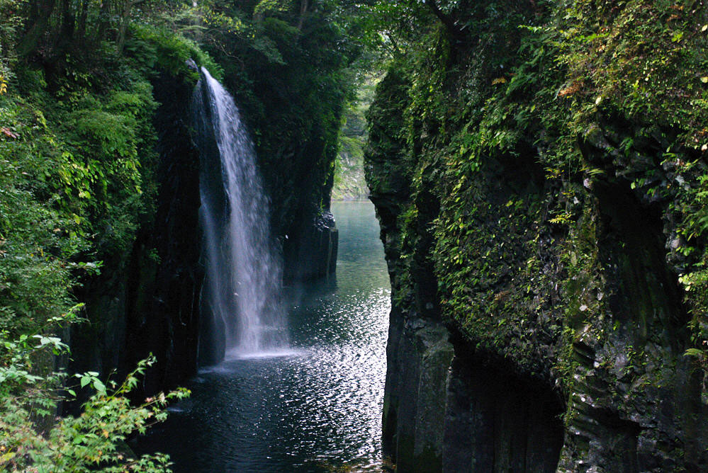 Takachiho Gorge in central Kyushu