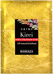 Gentle, enzymatic exfoliation, the Japanese traditional way. All-natural. No microbeads.