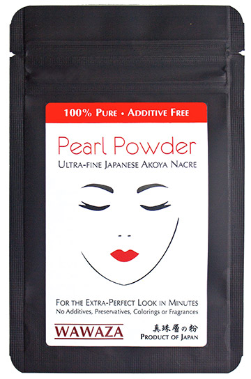 Pack of ultra-fine Japanese pearl powder