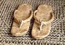 waraji rice straw sandals