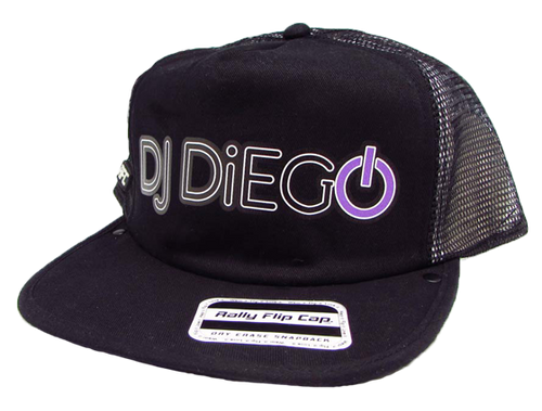 DJ Diego Flip Cap