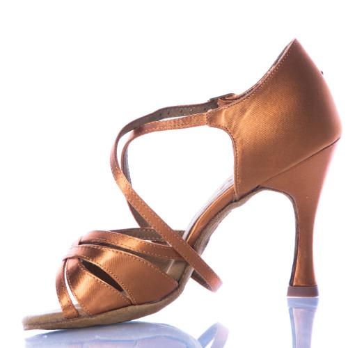 8843c45418b Loraina - Nude Strappy Dance Shoe - 3.75 inch Flared Heels