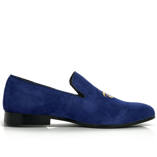 Royalty - Suede Burju Logo Loafer
